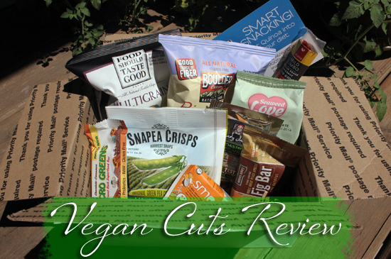 Vegan Cuts Review - A subscription box with nothing but vegan goodies!