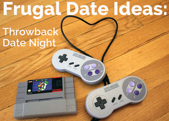 Frugal Date Ideas - Throwback Date Night For The Nerdy Kid Couple