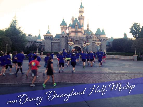 Rundisney Disneyland Half Meetup 2013