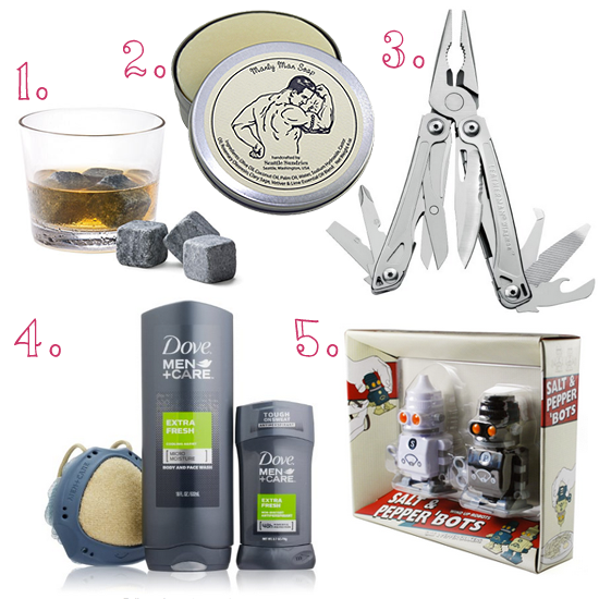 25 Under $25 - Gifts For Men Under $25 from frugalbeautiufl.com