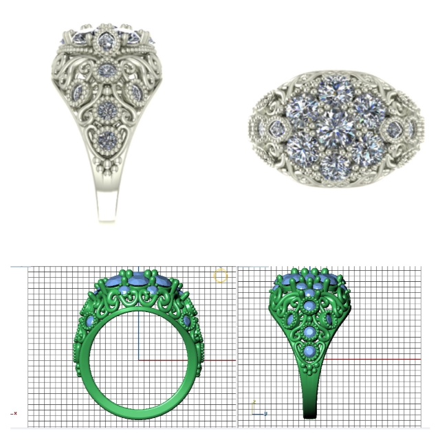 Designing Your Own Engagement Ring