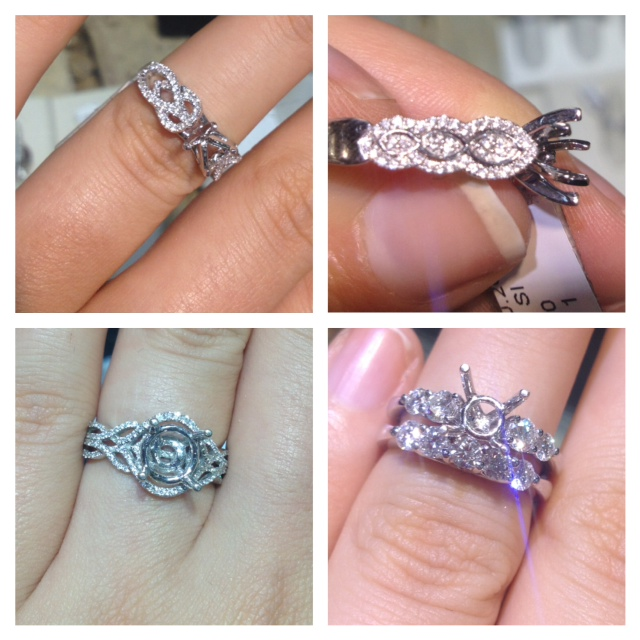 We Re Engaged How We Designed My Engagement Ring