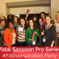 Vidal Sassoon #FallHairspiration Party