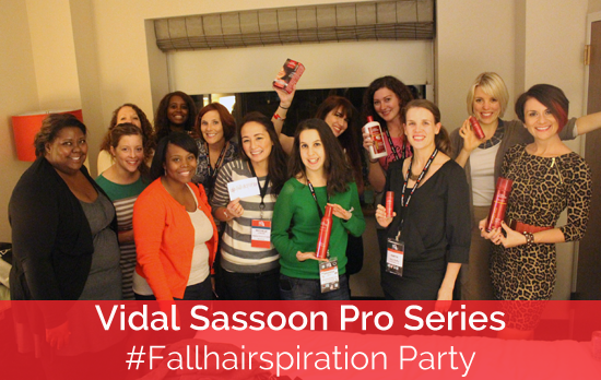 Vidal Sassoon Pro Series Fairhairspiration Party