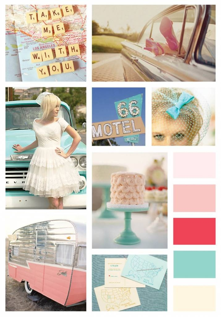 Route 66 Wedding Inspiration