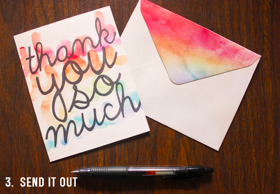 Cultivating Gratitude In Your Home - Send Thank You Notes