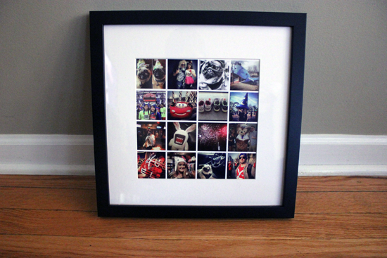 How To Print Your Instagram Photos For Easy Decor and Gifts