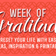 Welcome To Gratitude Week! Decompress and Reconnect Before Holiday Hysteria Kicks In