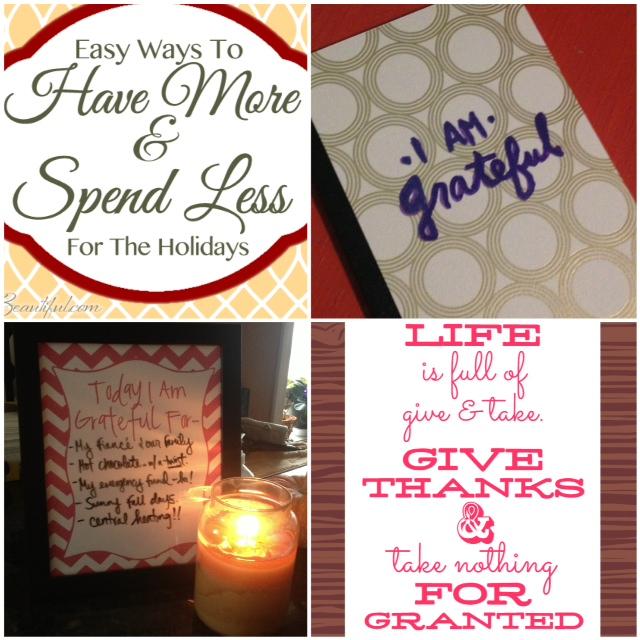 Week of Gratitude on FrugalBeautiful.com