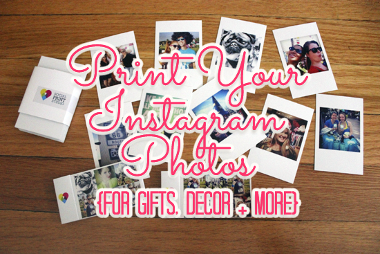 Where To Print Your Instagram Photos - Finally, get them off your phone!  FrugalBeautiful.com
