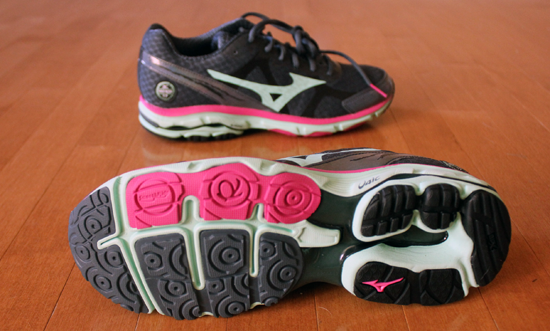 Review of the New Mizuno Wave Riders 17s 2013