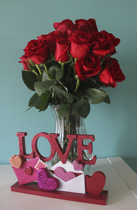 Awww roses from my fiance