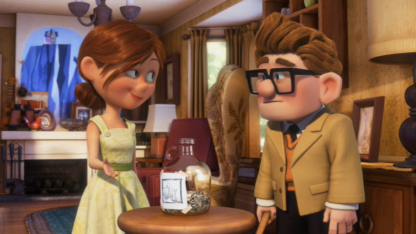 Saving Money In A Jar - If Carl and Ellie Can Do It For An Adventure, You Can Too!