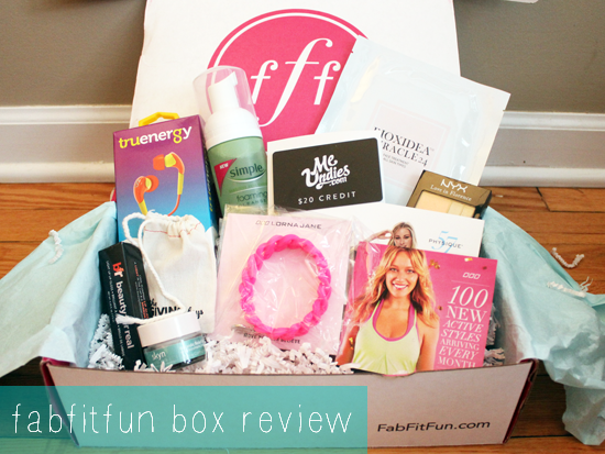 fabfitfun Box Review- A New Favorite! Plus A $5 fabfitfun Coupon