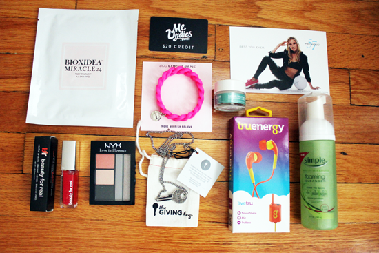 Get the FabFitFun Summer 2014 Box for $10 off!  we heart this  we