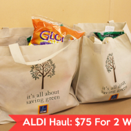 Switch & Save (Without Coupons!)- Grocery Shopping At ALDI