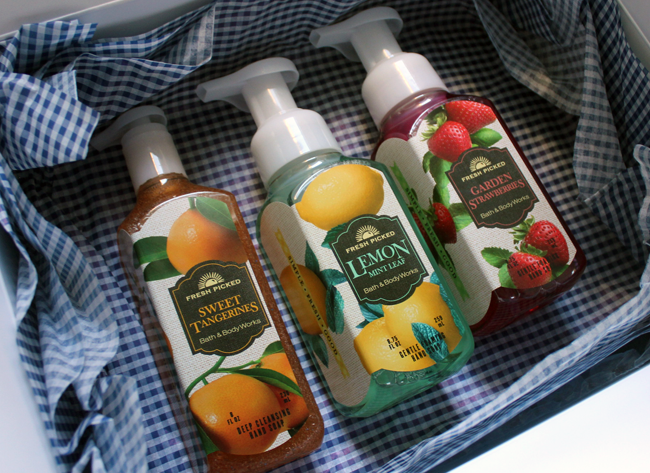 Bath And Body Works New Fresh Picked Collection