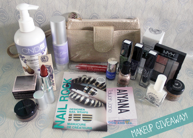 Frugal Beautiful Blogoversary Giveaway… Lots & Lots Of Awesome Makeup!