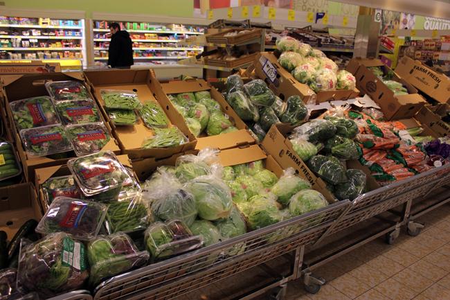 Saving money on groceries with ALDI