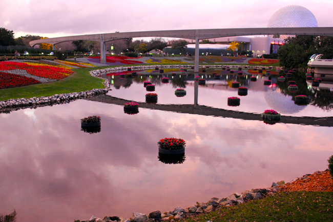 EPCOT for the Princess Half Marathon