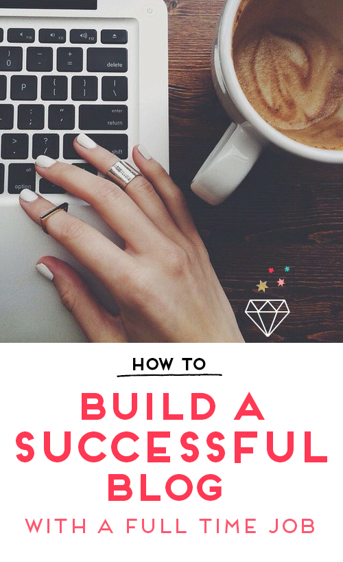 Working full-time but love blogging? Here are my best tips on growing a successful blog alongside a full-time job!