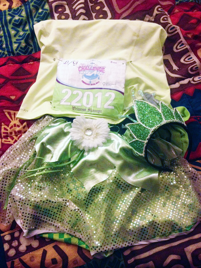 Tiana Running Costume- My Princess And The Frog Costume
