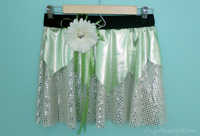 runDisney Costume- Tiana Sparkle Skirt ..Princess and the Frog Running Costume Idea
