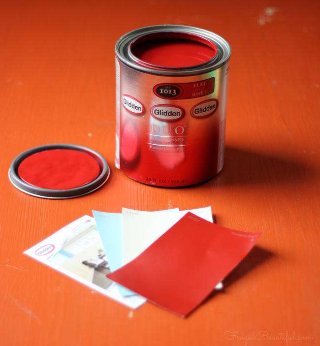 Gliden Paint DIY project