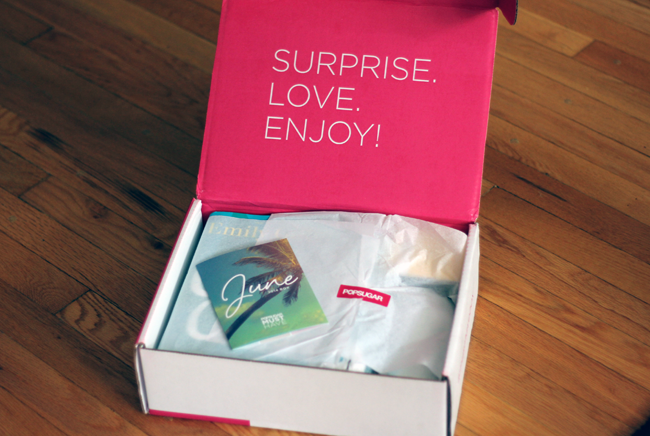 PopSugar Must Haves Box Review June 2014