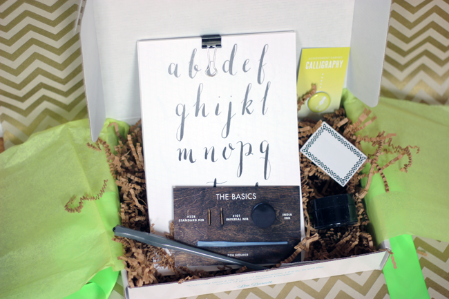 WhimseyBox Calligraphy Set Review