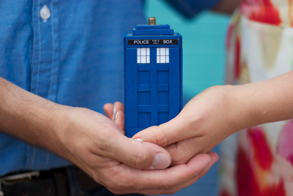 Doctor Who Engagement Session