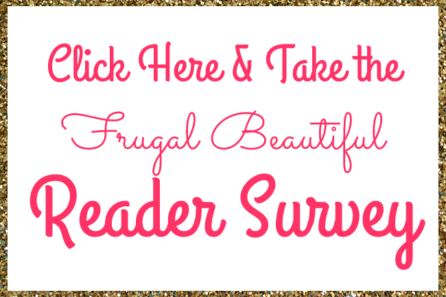 FrugalBeautiful 2014 Reader Survey