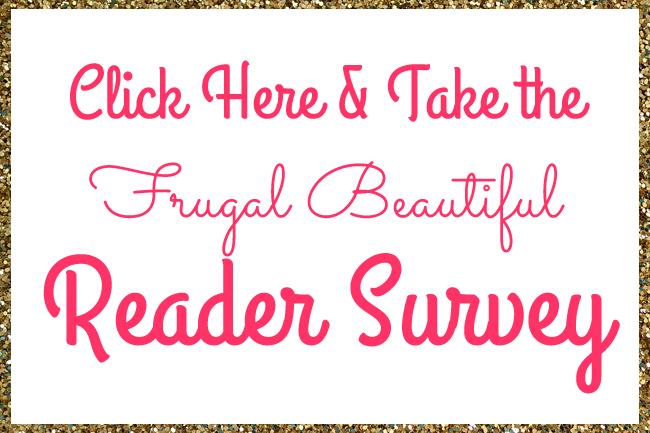 FrugalBeautiful 2014 Reader Survey