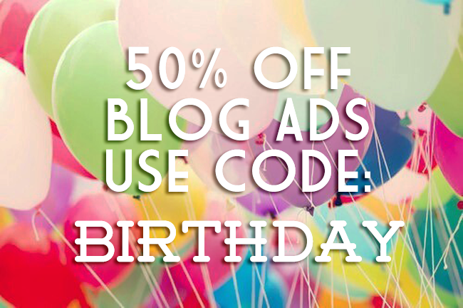 July Blog Ads Promo Code