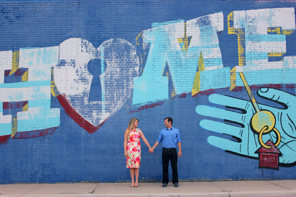 Logan Square Engagement Session