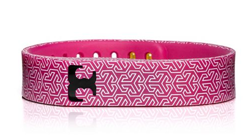 Tory Burch For FitBit Pink
