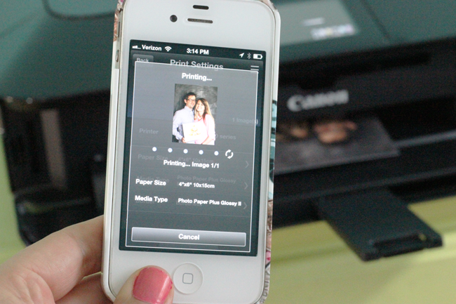 Canon Pixma Printer For Cloud Printing From Your iPhone
