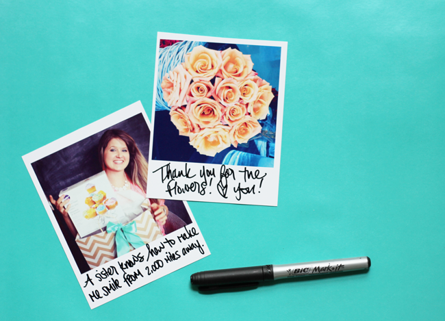 How To Create Polaroid Thank You Notes From Your Home Printer