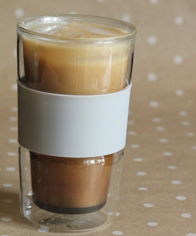 Make your own iced coffee at home!