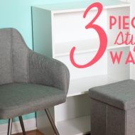 3 Pieces Styled 3 Ways with Sauder Furniture