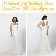 I Ordered My Wedding Dress Online! Dressilyme.com Wedding Dress Review