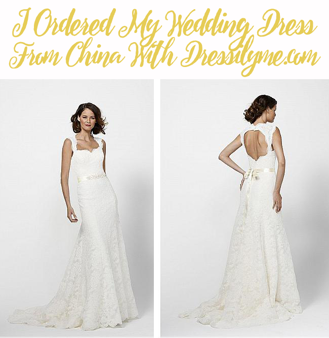 Are you on a tight wedding budget, or haven't been happy with the dresses you've found in stores? Consider a Dressilyme.com Wedding Dress. My review here!
