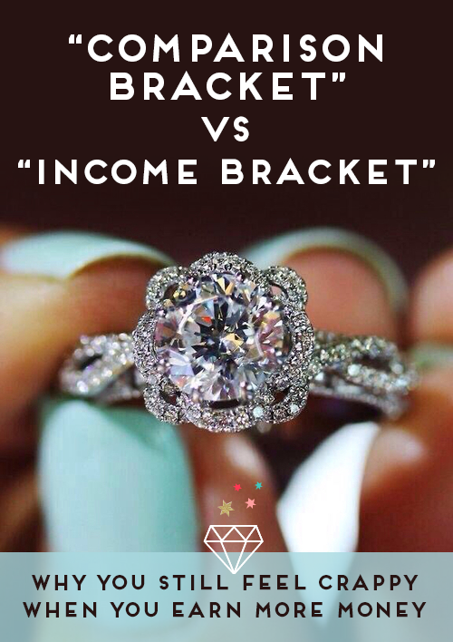 Comparison bracket vs income bracket - why you still feel crappy even when you earn more.