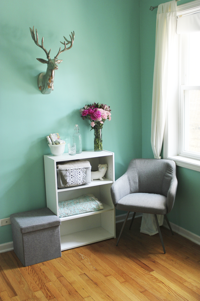 Look 1 - A Guest Nook With Sauder Furniture
