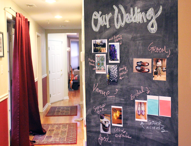 Pinterest Board At Home- Our Wedding Plan