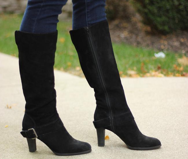 Nine West Boots from DSW- my favorite place to get boots!