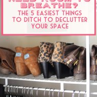 Clutter Driving You Crazy? The Easiest Stuff To Toss In Under 5 Minute..
