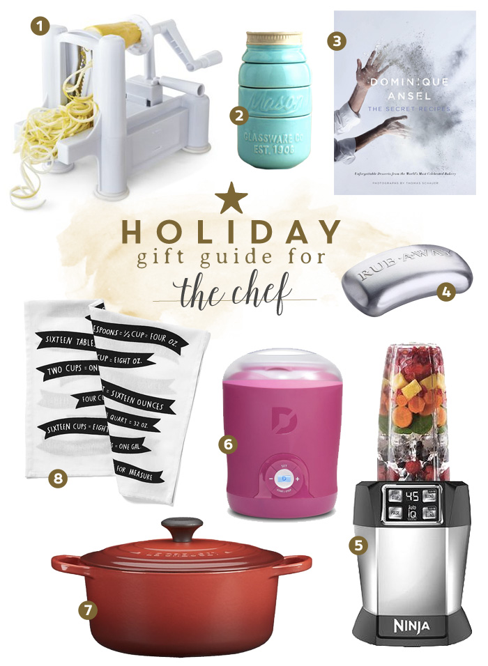 Holiday Gift Guide For The Chef Frugal Beautiful