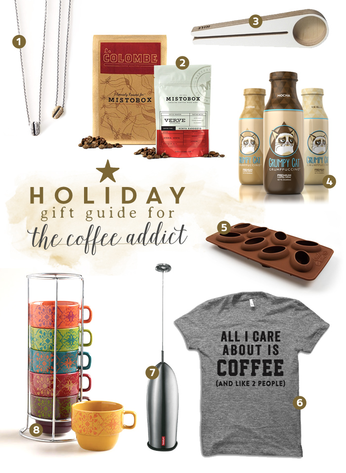 Almost everyone knows of someone who loves coffee, so why not get some ideas from our gift guide for the coffee addict in your life?