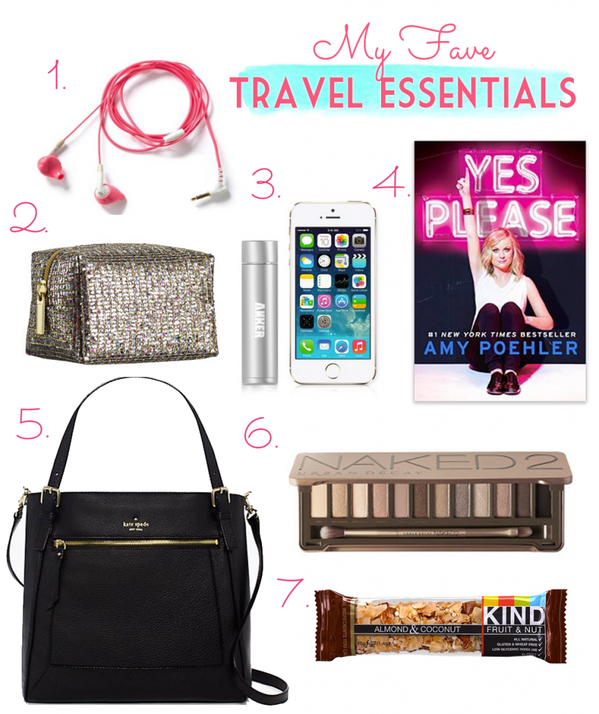 My Fave Travel Essentials- what I'll be using on the flight home from Christmas vacation!